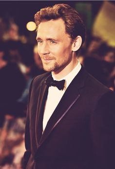 Tom Hiddleston... just marry me please.