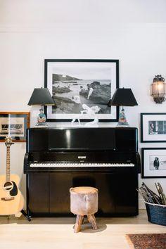 Laundry Room Art, Piano Room, Art Desk, Game Room, House, Inspiration, Home Decor, Gemma Ward, Designers