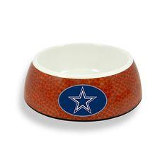 NFL Dallas Cowboys Pet Bowl - 5 cups at shop.dallascowboys.com