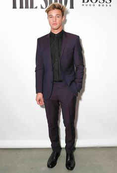 The Best Dressed Men Of The Week: Cameron Dallas at the W Magazine x Hugo Boss Party, NYC. #bestdressedmen #camerondallas