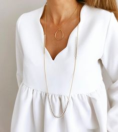 é c o l l e t é #ootd #outfitoftheday #todayiwear #todayiamwearing #metoday •blouse Martha @saaj_paris #saajparis •collier Maya