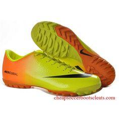 New Yellow Orange Black Nike Mercurial Victory IV CR Turf Futsal Cheap  Football Boots d1cc4c2941