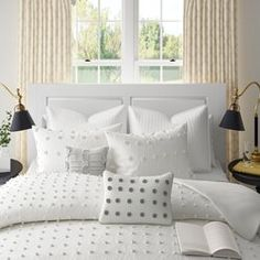 Laura Ashley Home Ruffled 150 Thread Count Bed Skirt Bedskirt Ruffle Bed Skirts Ruffle Bedding