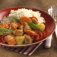 Sweet-and-Sour Chicken #myplate #chicken #healthy