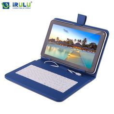 """iRULU eXpro X1Pro 9"""" Tablet PC Quad Core Android 4.4 Tablet 8GB WIFI Dual CAM Download Google Play APP With Russian Keyboard"""