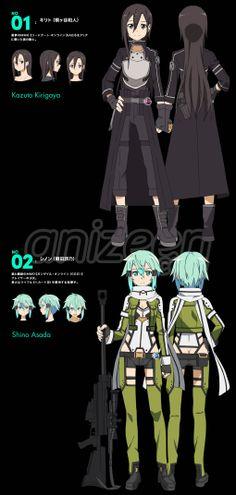 Sword Art Online II - Kazuto  Shino #2014summer #anime  Season Preview: http://www.anizeen.com/anime-wisdom/2014-summer/summer-anime-season-2014/
