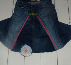 From Jeans To Skirt