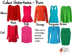 Pure, bright colours which don't have lots of black, white or grey added to them and keep their clarity. Deep Winter Colors, Spring Colors, Image Coach, Inside Out Style, Winter Typ, Seasonal Color Analysis, Orange And Turquoise, Yellow, Color Me Beautiful