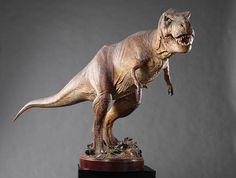 """120"""" (304.8cm) long-T-rex developed for Jurassic Park (1993) from the Stan Winston estate"""