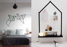 31 Trendy ideas for diy dco salon masking tape Masking Tape, Washi Tape Diy, Deco Studio, Diy Storage Bench, Tape Art, Teen Room Decor, Inspiration Wall, Deco Design, Home And Deco