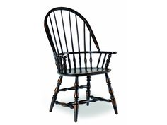 Shop For Hooker Furniture Sanctuary Windsor Arm Chair Ebony, And Other  Dining Room Arm Chairs At Howell Furniture In Beaumont And Nederland, TX  And Lake ...