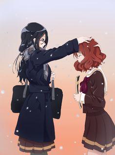 Tanaka Asuka and Oumae Kumiko