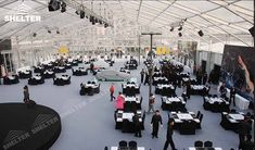 clear tent - large party marquee for sale - luxury wedding tent - event tents - shelter tent-111