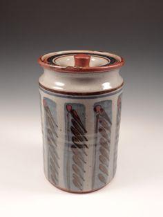 Simon Leach-Lidded Jar