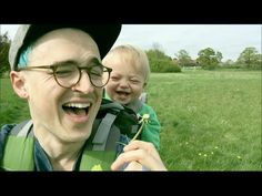 This Adorable Baby Can't Stop Laughing After He Sees A Dandelion For The First Time