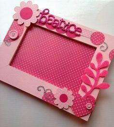 idea for a frame - Béatrice