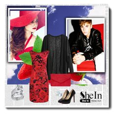 """SheIn contest"" by merima-ahmetovic ❤ liked on Polyvore featuring Justin Bieber, Dorothy Perkins, Bling Jewelry and shein"