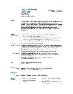 Nursing School Resume Template Recent Graduate Resume