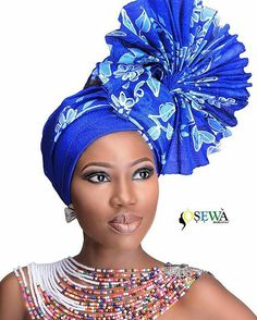 In the headwraps became a central accessory of Black Power's rebellious uniform. Headwrap, like the Afro, challenged accepting a style once used to shame African-Americans. African Hats, African Attire, African Wear, African Fashion Dresses, African Women, African Dress, Head Wrap Scarf, Head Scarfs, Scarves
