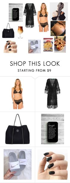 """Untitled #313"" by maddison-baron on Polyvore featuring Beach Bunny, Melissa Odabash, Roxy and Incoco"