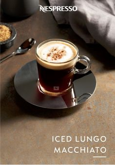 What better way to cool off from the warm summer weather than with this delicious Iced Lungo Macchiato. This Italian-inspired drink pairs the bold intensity of Vivalto Lungo Grand Cru with brown sugar and chocolate for an irresistibly sweet treat. Click here for the full easy iced coffee recipe.
