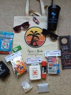 Funny Wedding Gift Bag Ideas : ... wedding guests gift bags, OOT Welcome Bags: 5 Must-Haves and 5 Fun