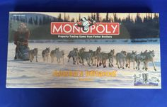 Monopoly Alaska's Iditarod Edition Factory Sealed Board Game Parker Brothers #ParkerBrothers