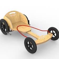 Bildergebnis für kiddimoto wooden billy cart