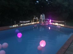 Floating Lights, Balloons, Party Ideas, Outdoor Decor, Globes, Balloon, Ideas Party, Hanging Lanterns, Hot Air Balloons