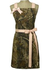 Licensed RealTree apron. New style of camo.  Has some really cool pockets. Check out LavishAprons.com