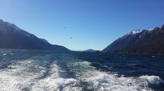 Navegando por el lago Nahuel Huapi con destino Puerto Blest - Bariloche - Argentina
