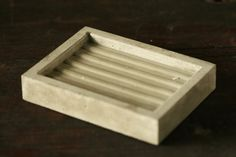 Concrete Soap Dish by atstuart on Etsy