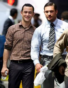 Joseph Gordon-Levitt and Tom Hardy. Toooooo hot.