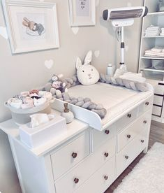 baby room Wickelkommode Ikea Hemnes jenna_franke I - Bedroom Storage Ideas For Clothes, Bedroom Storage For Small Rooms, Baby Room Storage, Baby Room Design, Small Room Design, Nursery Design, Baby Bedroom, Baby Boy Rooms, Ikea Bedroom