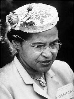 Civil rights activist: Rosa Parks