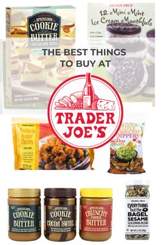 I love shopping at Trader Joe's and I wanted to share The Best Things to Buy at Trader Joe's everytime you go! #traderjoe's #traderjoesessentials