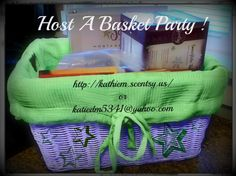 how to make a scentsy basket