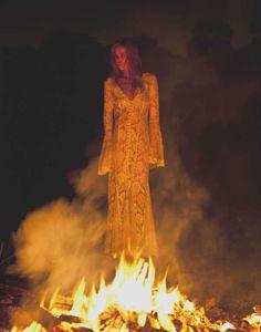Karina by Matt Solomon Channels a Retro Witch #70s #fashion trendhunter.com