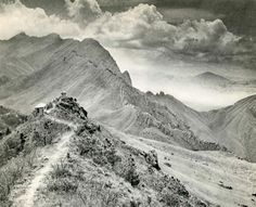 """Chin-San Long, [Lang Jingshan/Lang Chin San/Chinsan-Long] (Chinese, 1892-1995).  """"Chine"""".  Photogravure. c1934. Original Vintage, Photo Projects, Chinese Art, In This Moment, Black And White, Landscape, Travel, Film, Photos"""