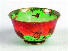 Wedgwood Fairyland Lustre bowl decorated, with frolicking elves ...