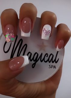 Acrylic Nails Coffin Short, Simple Acrylic Nails, Best Acrylic Nails, Glamour Nails, Classy Nails, Plaid Nails, Swag Nails, Subtle Nails, Valentine Nail Art