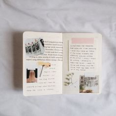 Ideas and inspiration for keeping a scrapbook, travel journal, or art journaling My Journal, Art Journal Pages, Art Journals, Writing Journals, Kunstjournal Inspiration, Art Journal Inspiration, Journal Ideas, Smash Book, Diy Pinterest