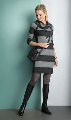 The Pinstripe Dress.  One of my favorites!  Come see it at the Holiday show.  Sept. 25-October 6th.  more at www.lowcountrystyles.com