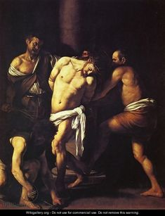 The Flagellation of Christ - Caravaggio