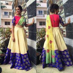 Indian Designer Outfits, Designer Dresses, Party Wear Lehenga, Saree Models, Kurti Designs Party Wear, Beautiful Blouses, India Fashion, Saree Blouse Designs, Traditional Dresses