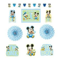 Mickey Mouse Birthday Decoration Kit