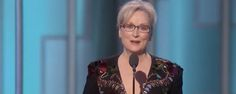 WATCH: Meryl Streep Uses Lifetime Achievement Award Speech to Denounce Trump and Trumpism