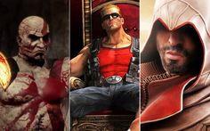 Kratos, Duke Nukken ou Ezio? Quem é o herói mais incorreto?