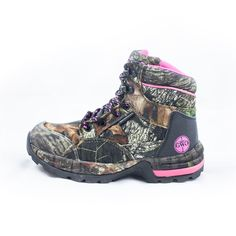 """Girls with Guns Mossy Oak Camo Womens/Ladies """"The Huntress"""" 6"""" Non-Insulated Hunting Boot"""