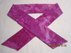 """Extra Wide 3"""" Reusable Non-Toxic Cool Wrap / Neck Cooler  - Tones and Marbled - Magenta Tones by ShawnasSpecialties on Etsy"""
